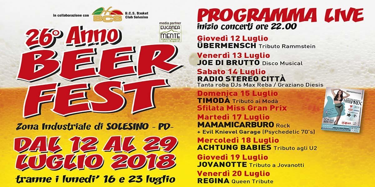 Beerfest Solesino MANIFESTO 70x100