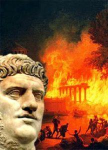 Anno 64 d.C.: Nerone e il grande incendio di Roma