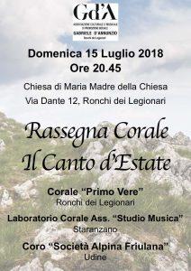 """Rassegna Corale """"Il Canto d'Estate"""""""