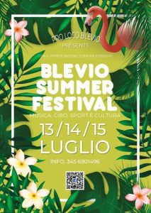 Blevio Summer Festival 2018 - Music, Sport & Food