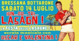 Festa delle Lasagne di Bressana Bottarone 2018