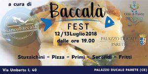 1° Edizione del Baccalà Fest