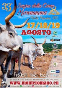 Sagra della Carne Maremmana - Festa Dei Prodotti Tipici a Monte Romano