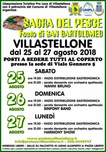 Sagra del Pesce - Festa di San Bartolomeo a Villastellone
