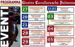 24° Giostra Cavalleresca di Sulmona