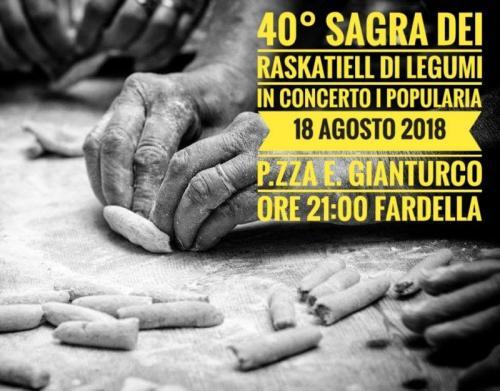 Sagra dei Raskatiell di Legumi - 40° Sagra di Fardella