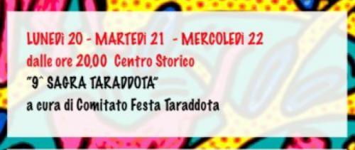 Sagra Taraddota - 9° Edizione della Festa Enogastronomica di Aradeo