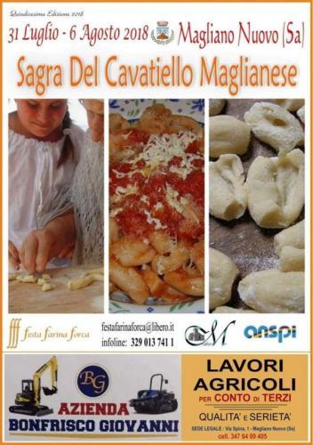 Festa Farina Forca - Sagra del Cavatiello Maglianese
