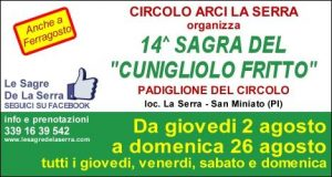 14^ edizione della Sagra Del Cunigliolo Fritto