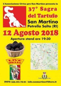 37° Sagra del Tartufo a San Martino
