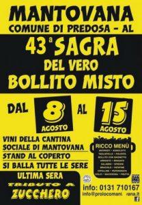 43° Sagra Del Bollito Misto a Mantovana