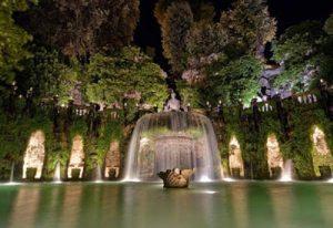 Villa d'Este a Tivoli - Visita guidata al chiaro di luna