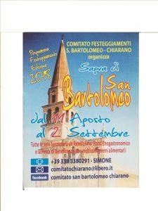 La Sagra di San Bartolomeo a Chiarano