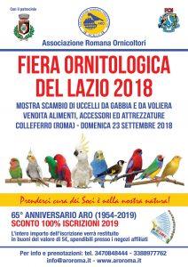 Fiera Ornitologica del Lazio 2018
