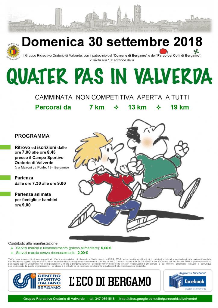 Quater Pas in Valverda 2018