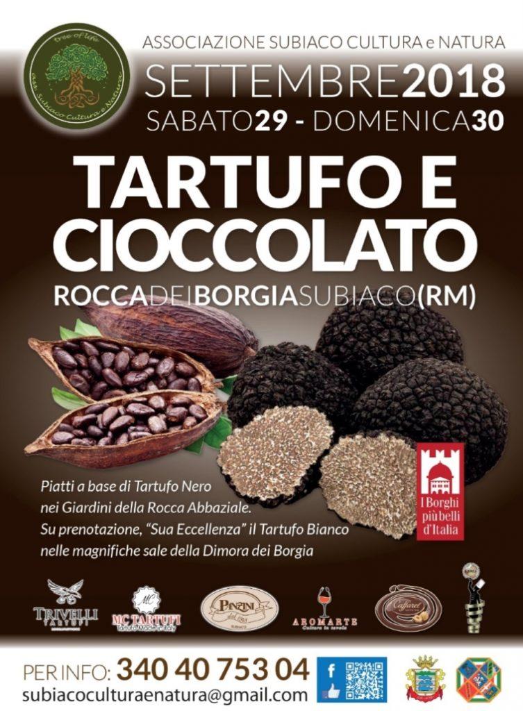 Tartufo e cioccolato nella dimora di Lucrezia Borgia