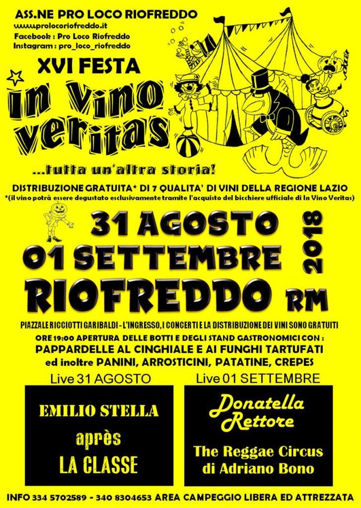 """XVI Festa """"In Vino Veritas"""""""
