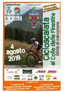 Cicloscalata al Colle delle Finestre - Sfida al Campione