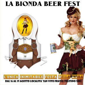 "Festa della Birra ""La Bionda Beer Fest"""