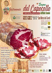 4° Sagra del Capocollo e delle Specialità Gastronomiche dell'Alto Sannio