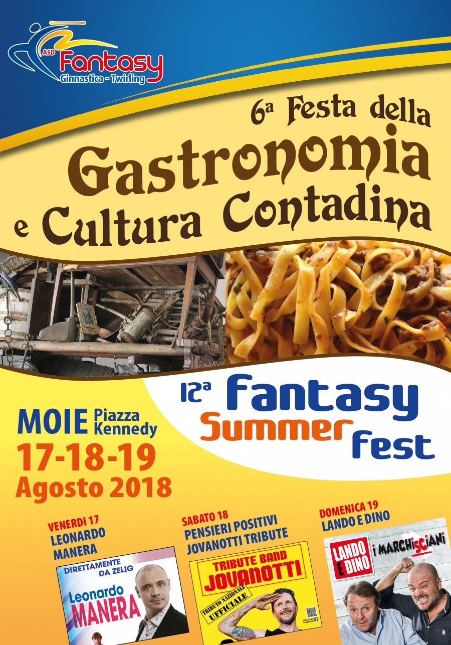 6° Festa della Gastronomia e Cultura Contadina