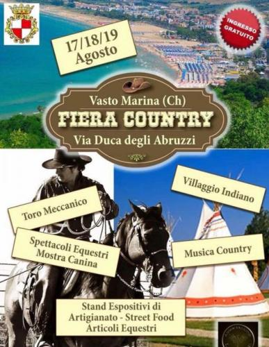 La Fiera Country a Vasto Marina