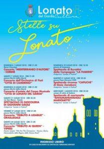 Stelle su Lonato - Concerti e Spettacoli a Lonato del Garda 2018