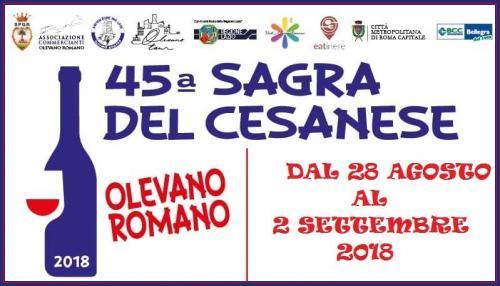 45° La Sagra del Cesanese