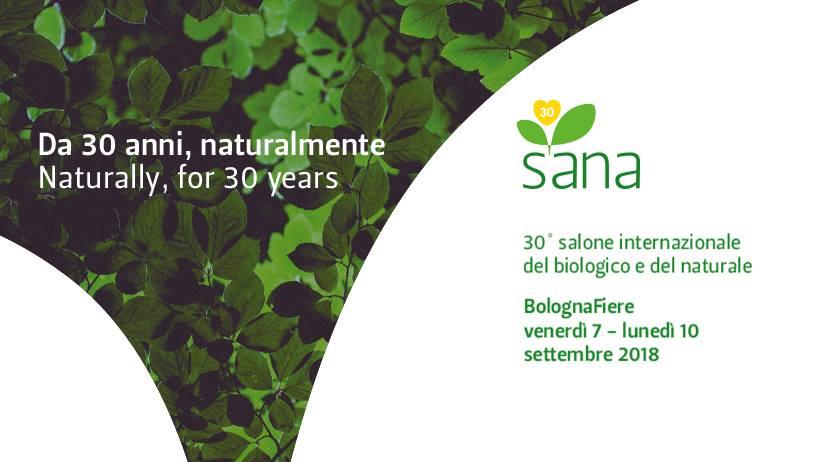 SANA 2018 - Salone internazionale del biologico e del naturale