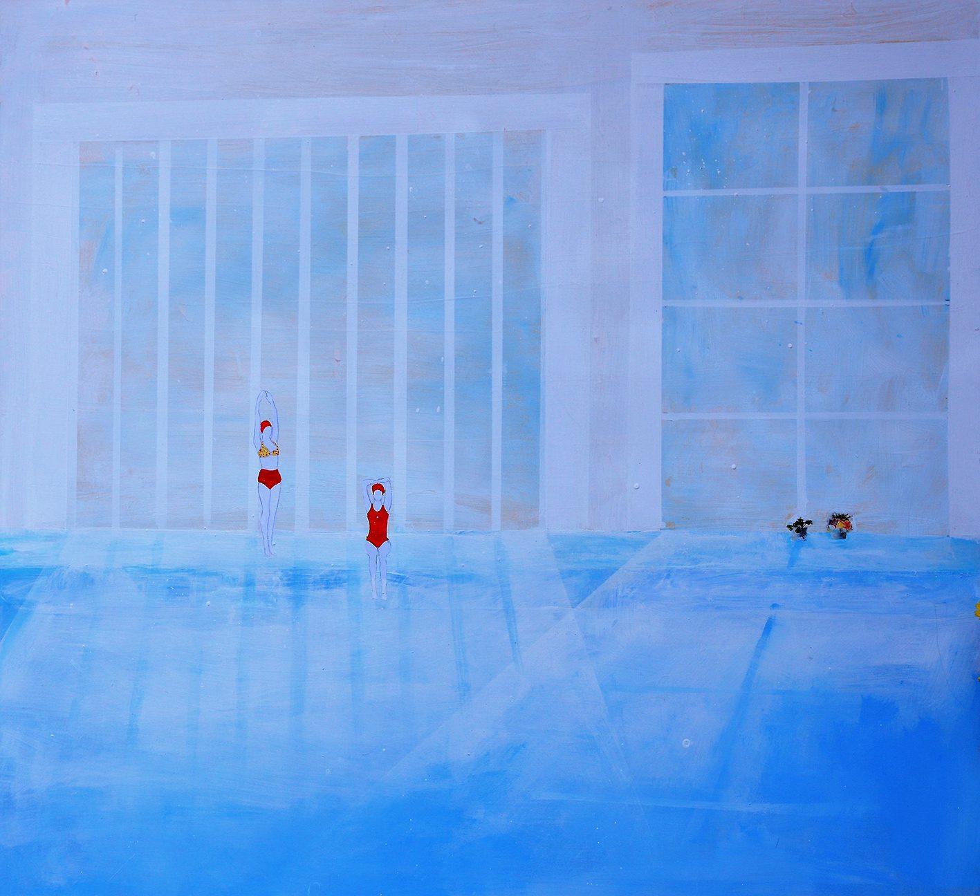 """""""The Swimmers"""" mostra personale di Alketa Bercaj Delishaj"""