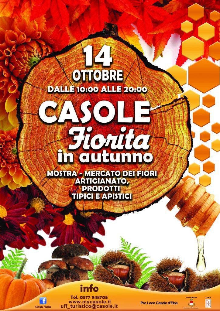 """""""Aggiungi un borgo a tavola"""" Casole Fiorita in autunno"""