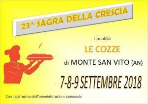 23° Festa della Crescia a Monte San Vito