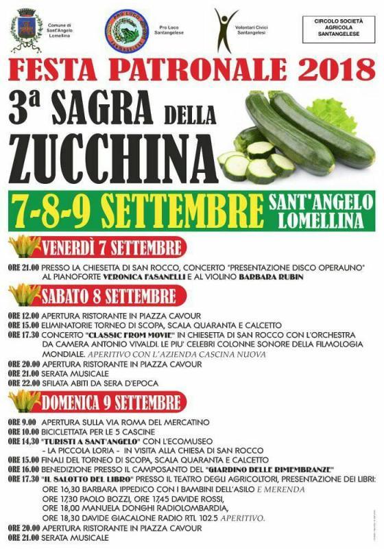 Festa Patronale e 3° Sagra della Zucchina