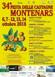 34° Festa delle Castagne a Montenars