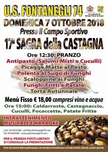 17° Sagra della Castagna a Fontanegli