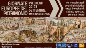 Giornate Europee del Patrimonio 2018 - Roma