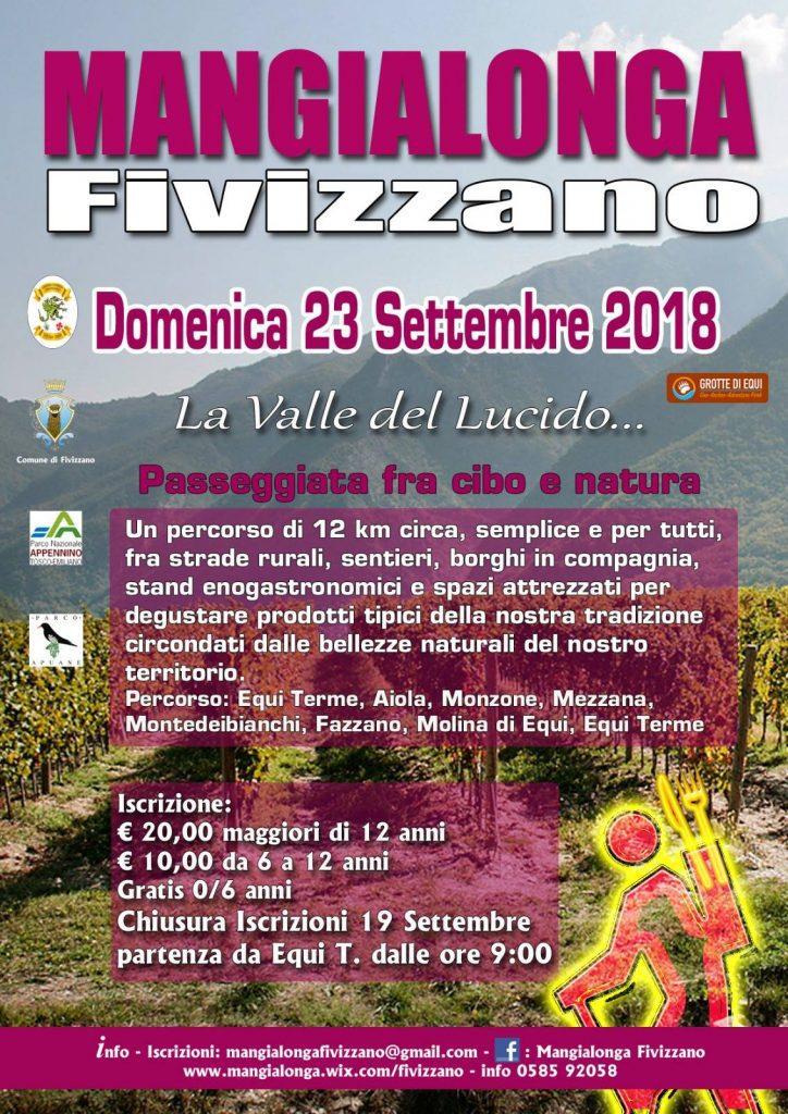 Mangialonga di Fivizzano - La Valle del Lucido