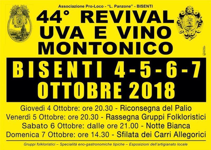 44° Revival dell'Uva e del Vino Montonico