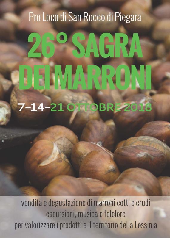 26° Sagra dei Marroni di San Rocco