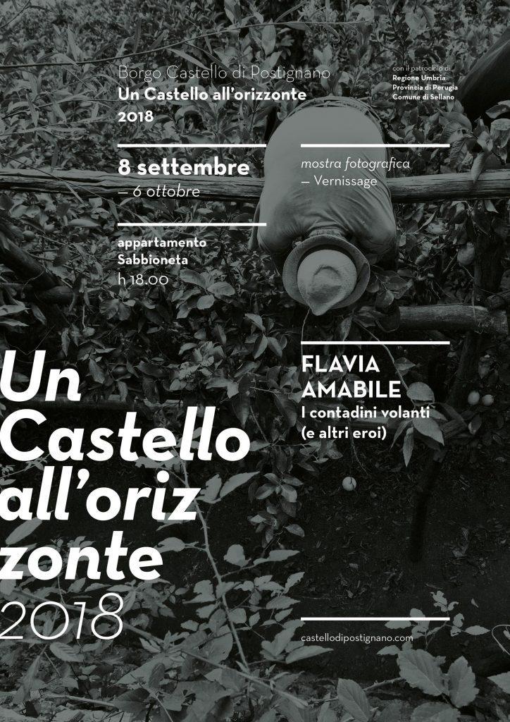 Un Castello all'Orizzonte - mostra fotografica di Flavia Amabile