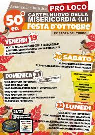 50° Festa d'Ottobre di Castelnuovo della Misericordia