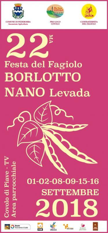 22° Festa del Fagiolo Borlotto Nano Levada