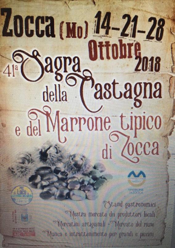 41° Festa della Castagna e del Marrone tipico di Zocca