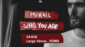 Mihail in concerto a Roma