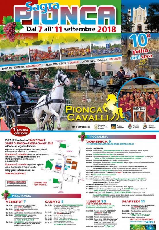 Pionca Cavalli 2018