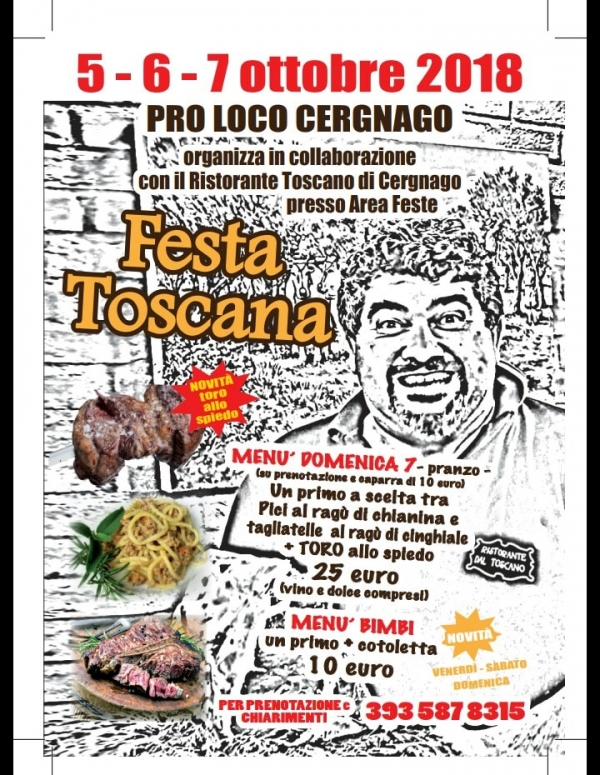 Festa Toscana di Cergnago