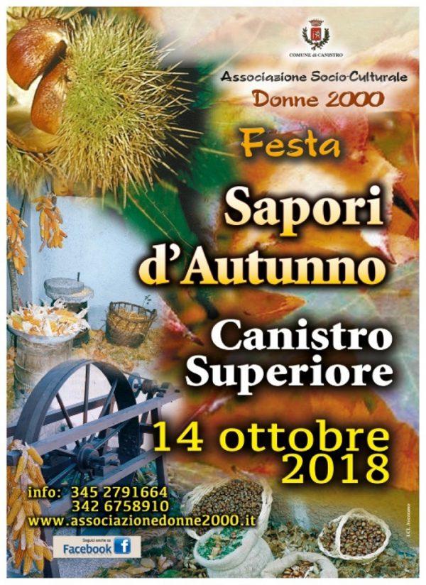 Festa dei Sapori d'Autunno di Canistro Superiore 2018