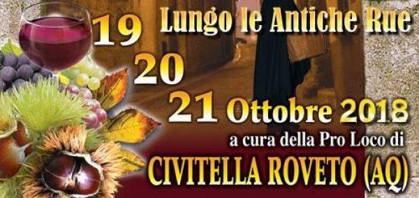 """18° Lungo le Antiche Rue"""" di Civitella Roveto"""