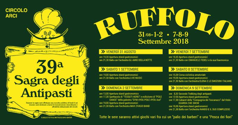 39° Sagra degli Antipasti a Ruffolo