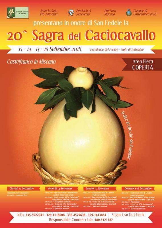 20° Sagra Del Caciocavallo